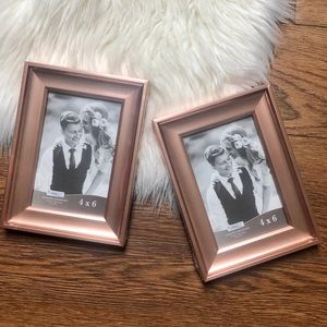 2 Icona Bay Rose Gold Picture Frames
